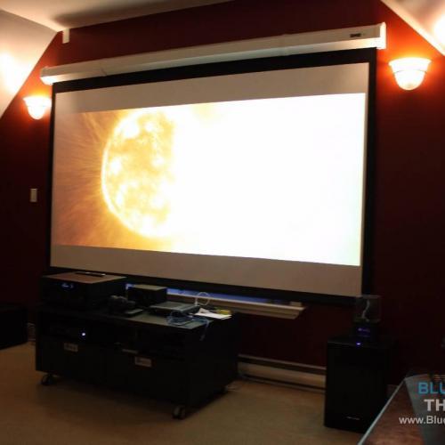 Home Theatre Installation, Media Room Design, Projector